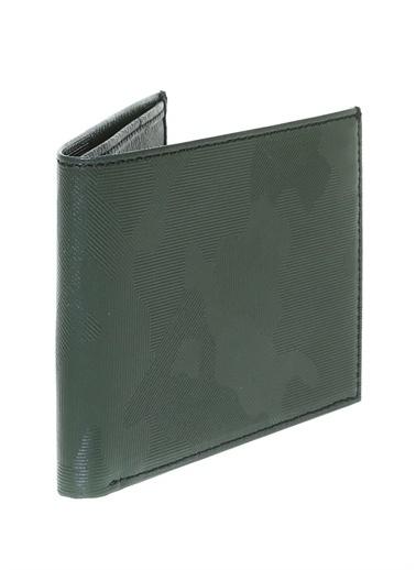 Fabrika Fabrika Erkek Kamuflaj Desen Kartlık Cüzdan Yeşil